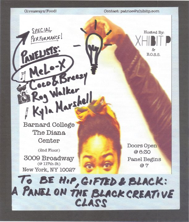 Event: XhibitP presents: To Be Hip, Gifted & Black