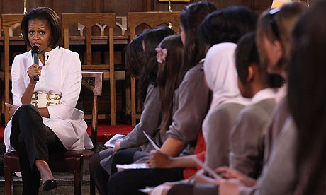 [video] Michelle Obama speaks to students at Oxford University