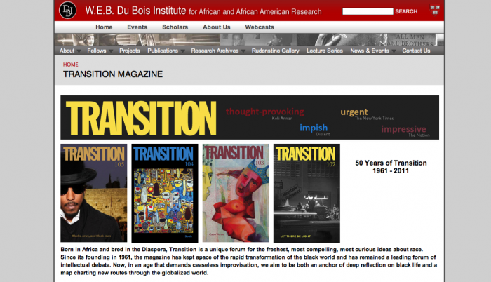 bookmark this: Transition Magazine