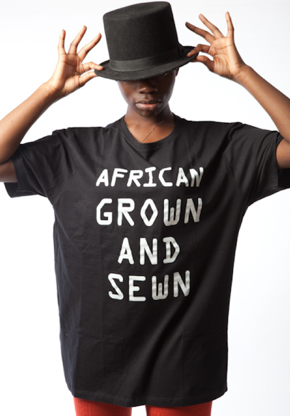 [T-Shirt Tuesdays] Africa Fashion Guide: Love From Africa collection raises awareness of African cotton